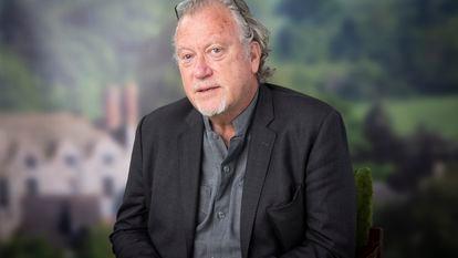 O jornalista Jon Lee Anderson durante uma conferência no Hay Festival, em novembro.