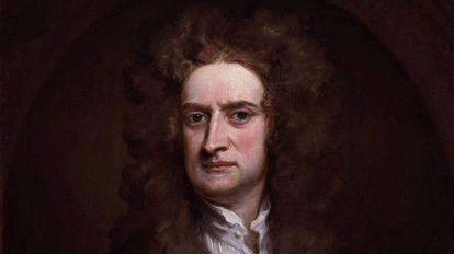 O cientista britânico Isaac Newton (1643-1727).