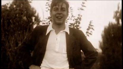 Ernesto Guevara, em um fotograma de 'La Huella'.