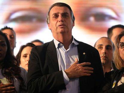 O candidato Jair Bolsonaro (PSL) em encontro com mulheres em Porto Alegre no dia 30 de agosto