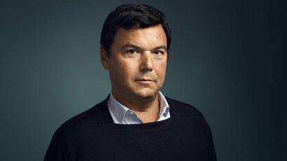 O economista Thomas Piketty, em Paris , no dia 7 de novembro.