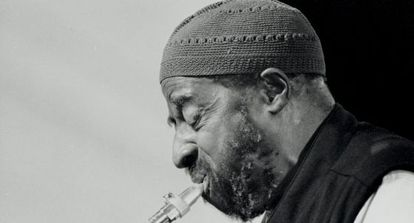 Yusef Lateef, músico de jazz, em 1999. / LEBRECHT (CORDON)
