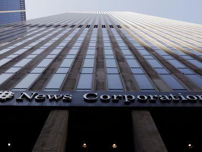 Sede da empresa News Corporation em Manhattan (Nova York).