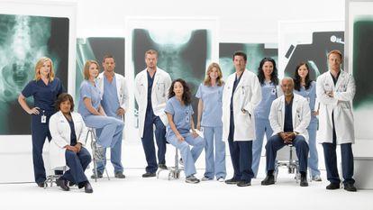 O elenco da série de Shonda Rhimes.
