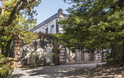 Fachada da casa comprada por Madonna em Lisboa.