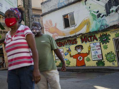 Painel do Complexo do Alemão fala sobre a pandemia no Rio, na comunidade.