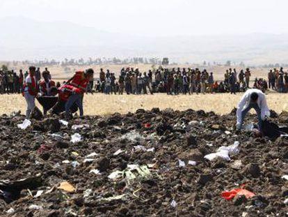 Voo ET 302 da Ethiopian Airlines havia acabado de decolar da capital Adis Abeba com destino a Nairóbi, no Quênia