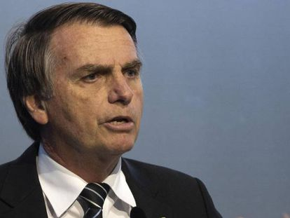 Jair Bolsonaro participa de evento em Brasília nesta quarta.