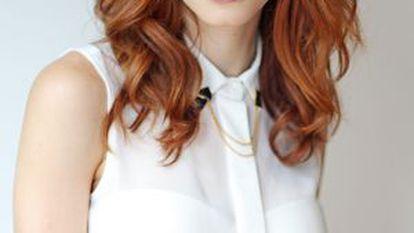 A atriz Michelle Batista.