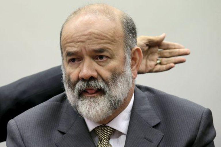 João Vaccari Neto, durante sessão da CPI no dia 9.