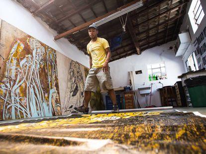 Santídio Pereira prepara sua nova exposição