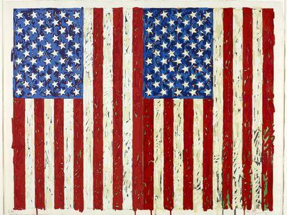 'Flags I, 1973'.