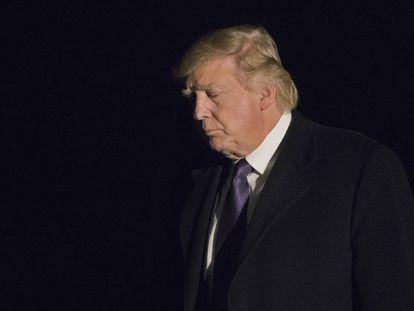 Donald Trump, neste domingo.
