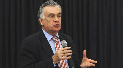 Juca Ferreira quando ministro, em 2010.