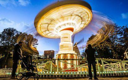 Parque de diversões de Tívoli, em Copenhague.