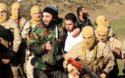 Imagem do piloto da Jordânia capturado pela milícia do EI.