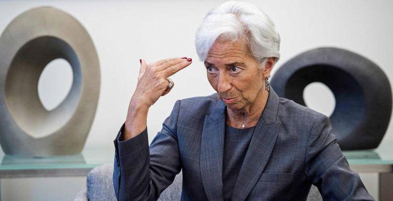A diretora gerente do Fundo Monetário Internacional, Christine Lagarde.