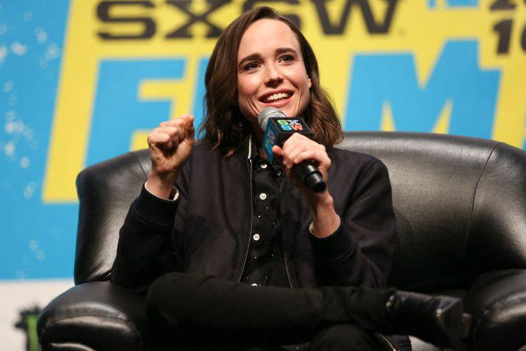 Ellen Page, neste sábado em Austin.