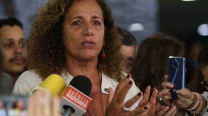 A deputada Jandira Feghali (PC do B).