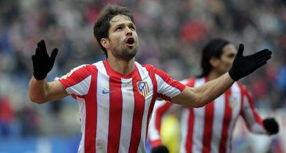 Diego em seu período anterior no Atlético.