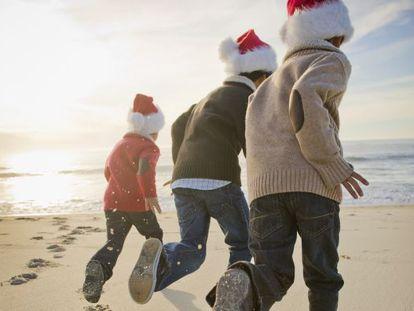 É Natal, finalmente férias