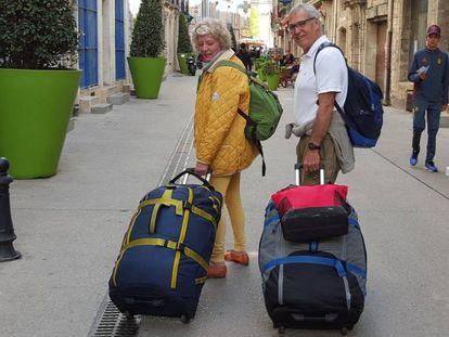 Debbie e Michael Campbell, de 61 e 71 anos