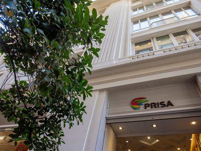 Sede do grupo PRISA na Gran Vía, Madrid.