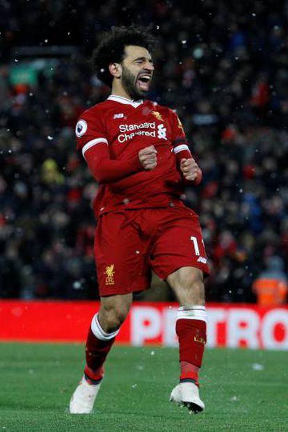 Salah, contra o Watford.