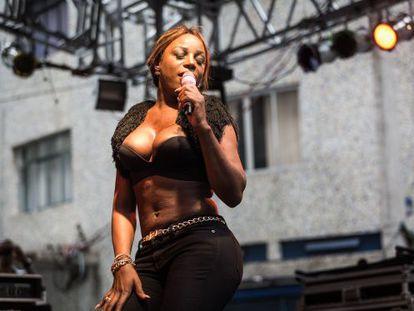 Titica, em show em São Paulo no último dia 13.
