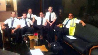 Luto e sigilo na sede espanhola da proprietária da aeronave