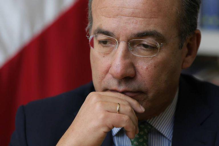 O ex-presidente Felipe Calderón