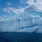 Iceberg na Antártida, avistado na expedição do Greenpeace.