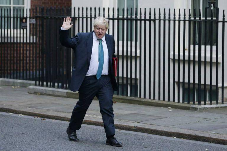 O ministro de Relações Exteriores do Reino Unido, Boris Johnson.
