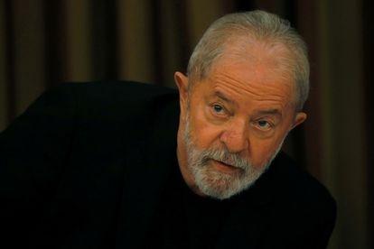 O ex-presidente Lula em reunião do PT, em fevereiro deste ano, em Brasília.