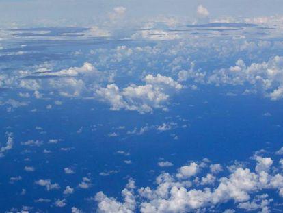 As nuvens marcam as fronteiras dos ecossistemas