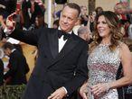 Tom Hanks y su mujer, Rita Wilson.