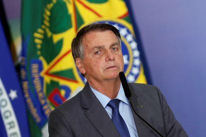 Bolsonaro em cerimônia no último dia 2, em Brasília.