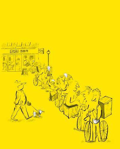 Ilustração de Lalalimola.