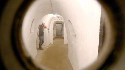 O bunker de Mussolini