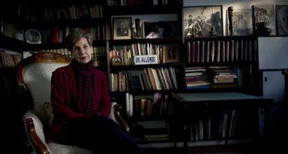 Isabel Allende, durante uma entrevista em agosto de 2013.