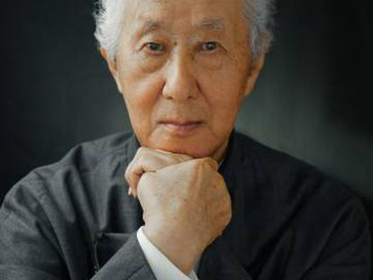 O arquiteto japonês Arata Isozaki.