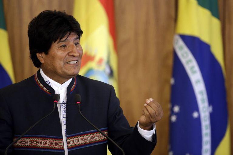 Evo Morales no dia 2 de fevereiro.