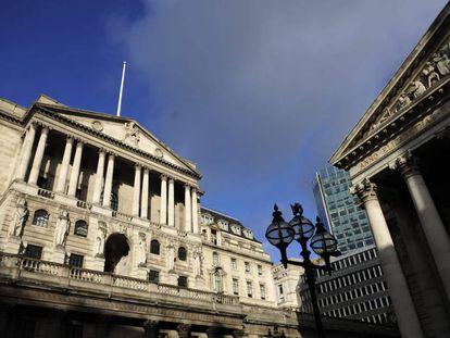 Na imagem, a fachada do Banco da Inglaterra em Londres, Reino Unido