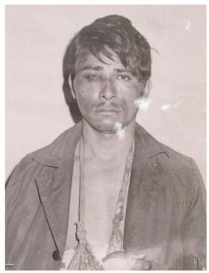 Eliseo de Jesús de la Cruz, de Atoyac (Guerrero), detido pela DFS em 1971, após ser preso sem ordem judicial.