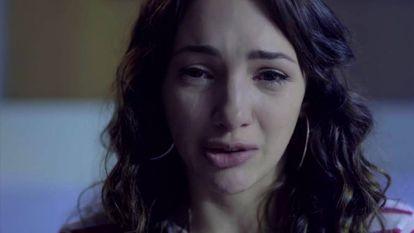 Em vídeo, a atriz Thelma Fardín denuncia o abuso