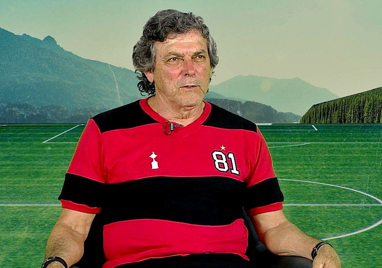 Lico, ex-jogador do Flamengo.