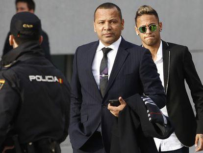 Neymar depõe na Audiência Nacional por fraude e corrupção