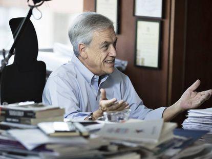 Sebastián Piñera, presidente eleito do Chile.