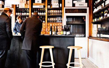 Vinhos em Vejam Stranden, em Copenhague.