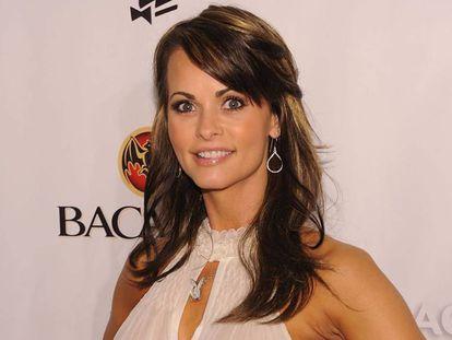 Karen McDougal, em um evento da Playboy em 2010.